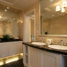 精美现代小户型卫生间装修实景图片大全