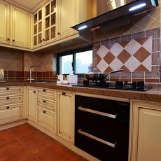小户型厨房美式装修欣赏图片