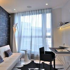 现代风格家庭书房工作室装修效果图