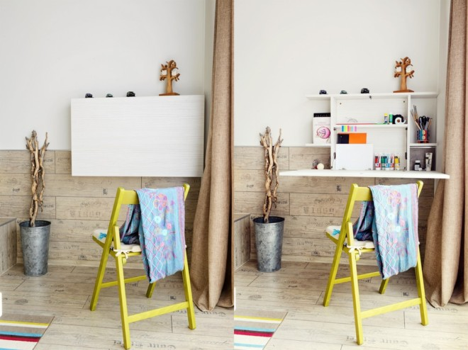 单身公寓室内家具摆放图片