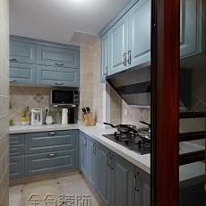 热门美式小户型厨房实景图片大全