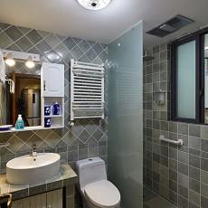 热门小户型卫生间美式装修效果图片欣赏