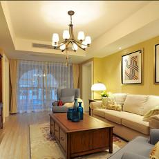 精美72平米二居客厅美式欣赏图片