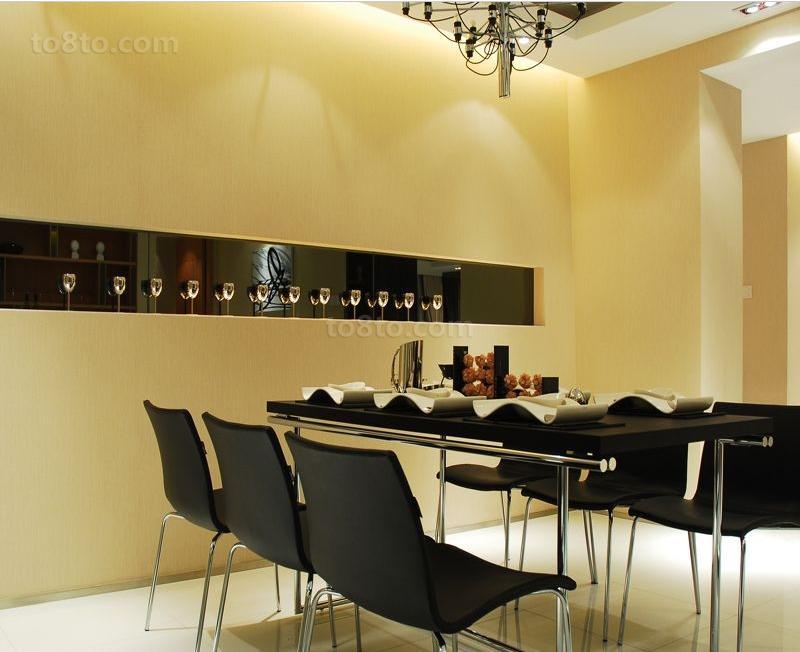 精选89平米现代小户型餐厅装修图片大全