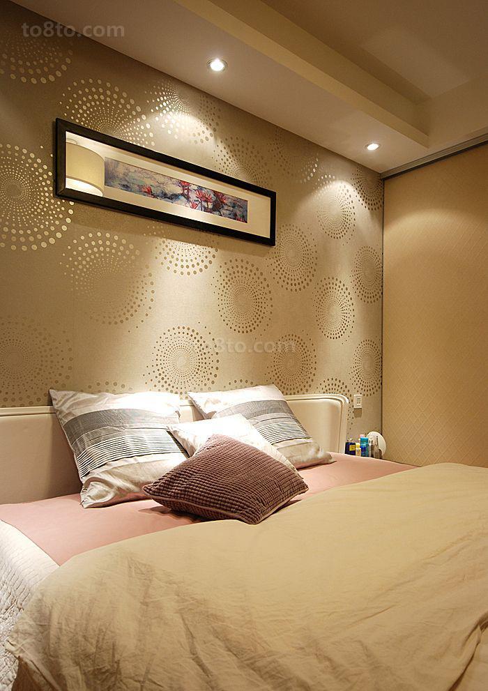 卧室墙面壁纸装修效果图