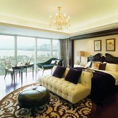 精美127平米新古典别墅卧室效果图片欣赏
