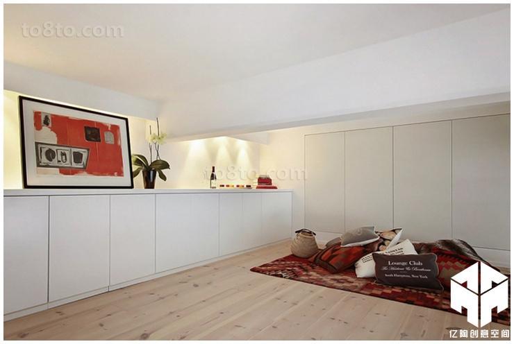 精选75平米现代小户型休闲区装修效果图片欣赏