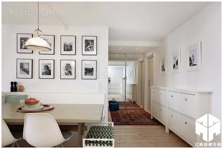 精美82平米现代小户型休闲区实景图片大全