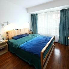 精美84平米现代小户型卧室装饰图