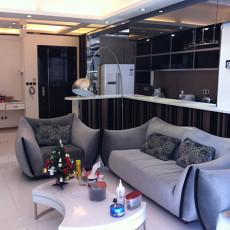 精美面积83平小户型客厅现代实景图片欣赏