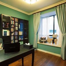 精美89平米美式小户型书房装修图片大全