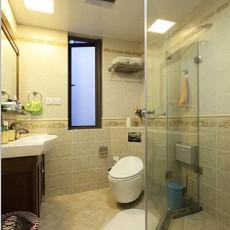 热门面积81平小户型卫生间美式效果图