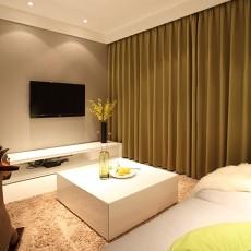 精美78平米二居客厅简约装修欣赏图片