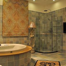 热门72平米欧式小户型卫生间装修设计效果图