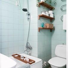 精选现代小户型卫生间实景图