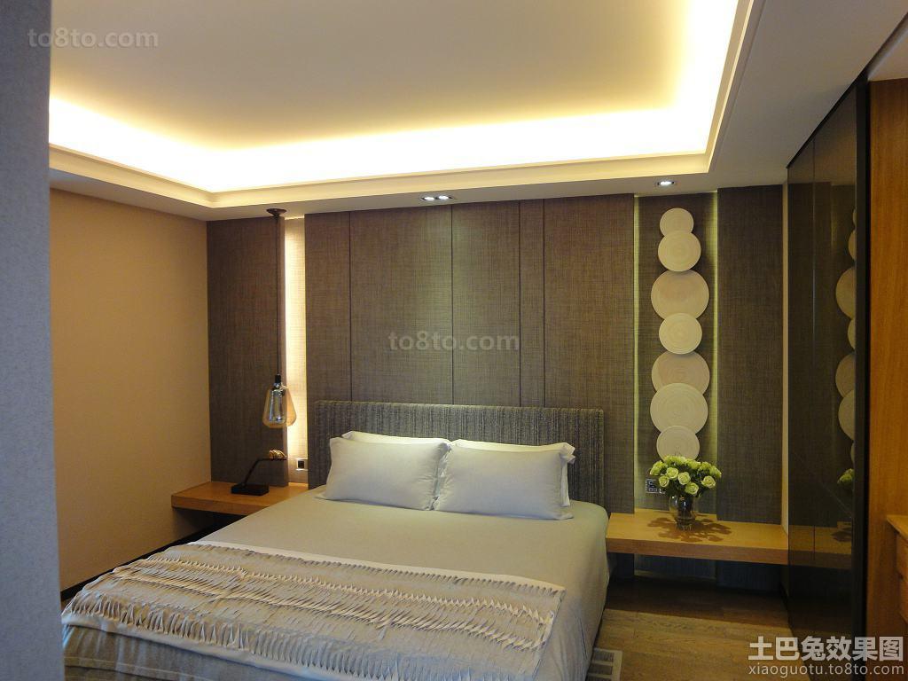 现代豪华家装四室两厅卧室装修效果图