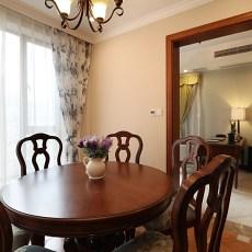 热门面积84平小户型休闲区美式装修设计效果图片
