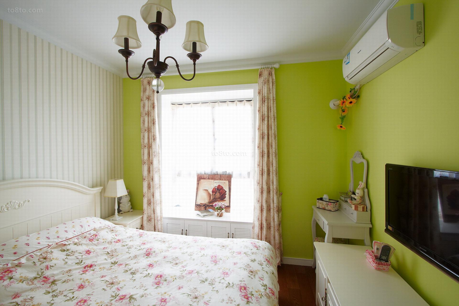 精选美式小户型卧室装饰图片