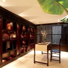 现代中式书房装修效果图大全图片