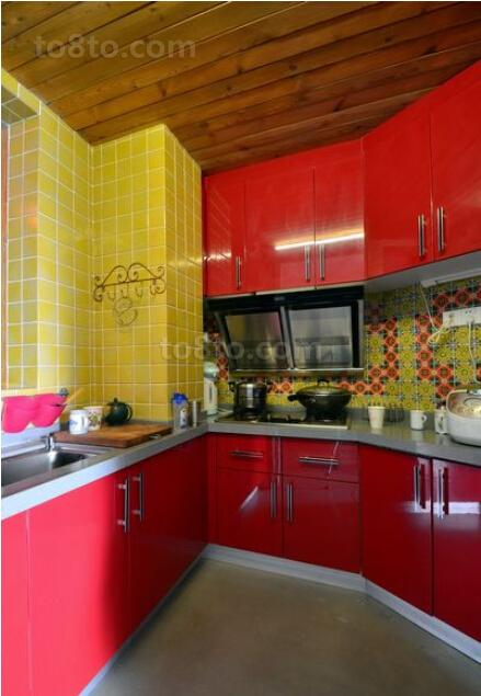波西米亚风格家庭厨房装修效果图
