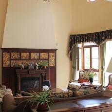 田园美式客厅装修效果图