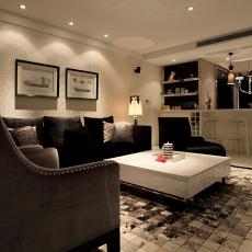 精美面积74平现代二居客厅装修欣赏图