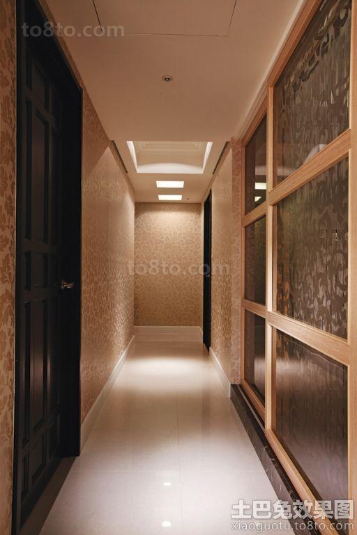 时尚现代走廊装修效果图