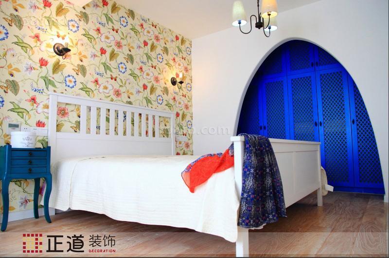 精美面积72平小户型卧室田园装修设计效果图片欣赏