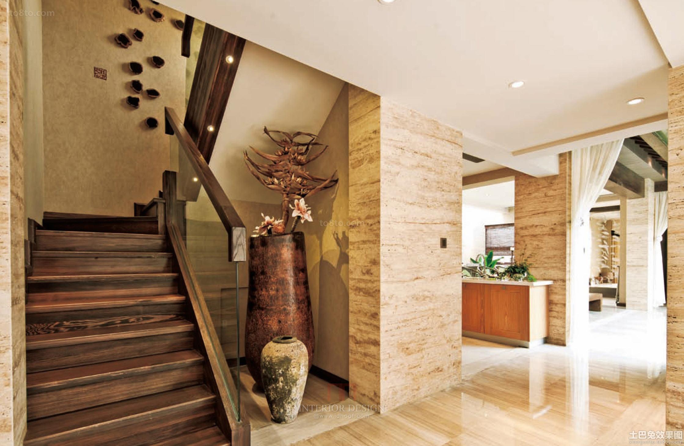 时尚风格楼梯装修效果图
