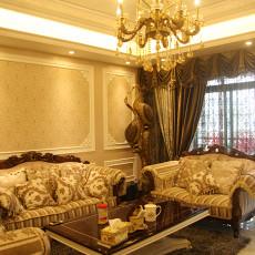 欧式古典风格客厅装修效果图片