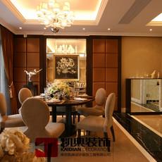 古典装修家用餐厅设计图片