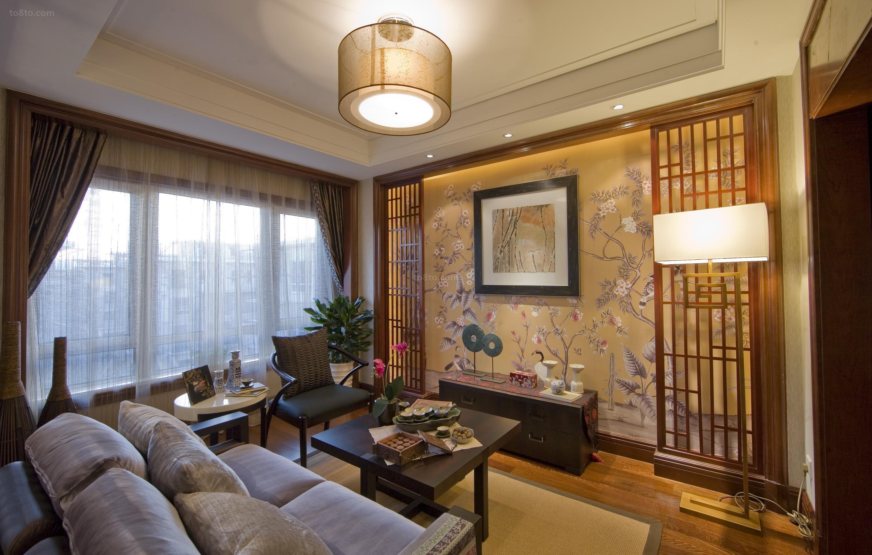 中式风格客厅装修效果图欣赏大全