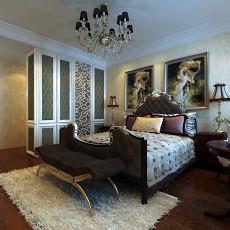 精选95平米三居卧室欧式欣赏图片