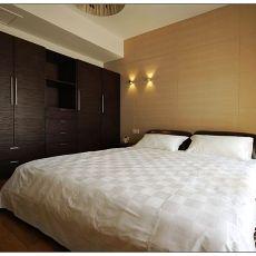 热门106平方三居卧室现代欣赏图