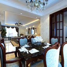 欧式风格餐厅设计效果图欣赏