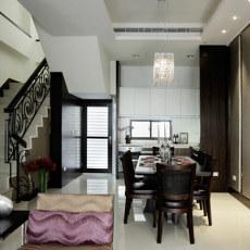 现代装修风格家装室内餐厅设计
