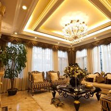 137平米四居客厅新古典装饰图