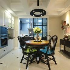 2018面积79平现代二居餐厅装修图