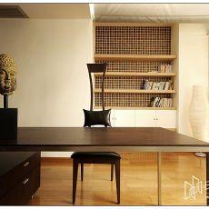 现代简约家装室内书房设计效果图