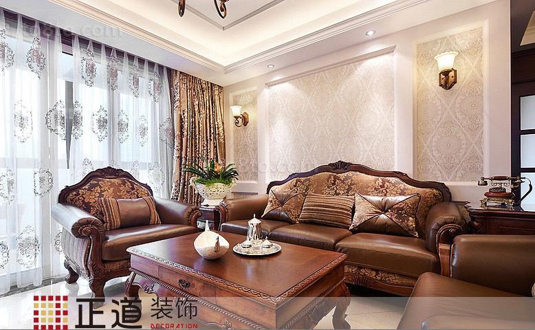 热门78平米欧式小户型休闲区装修设计效果图片大全