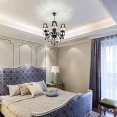高档三室两厅卧室装修效果图