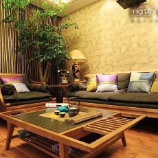 东南亚风格时尚客厅装修效果图欣赏
