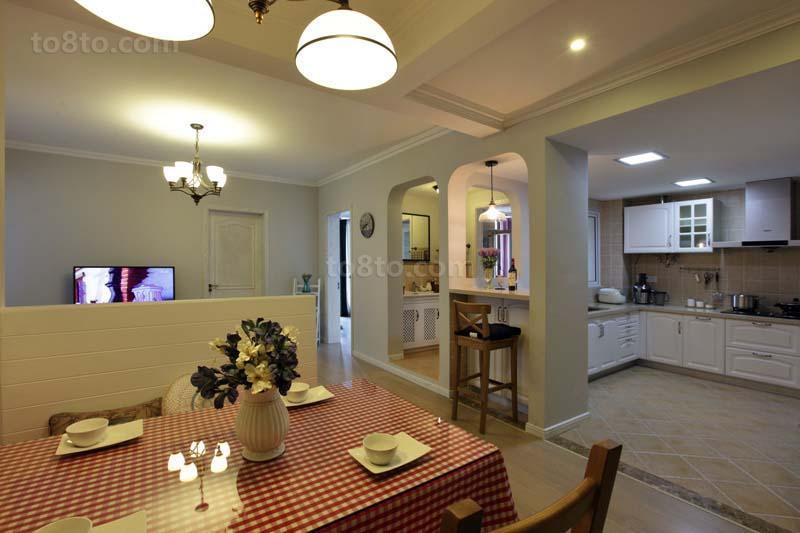 简约风格小户型厨房装修效果图片