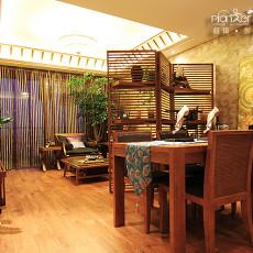 东南亚风格餐厅装修欣赏大全
