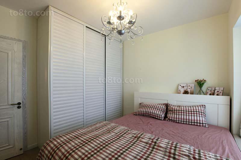 精选80平米二居卧室简约装修图片大全
