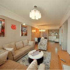 71平方二居客厅现代装饰图片