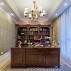 热门美式小户型书房设计效果图