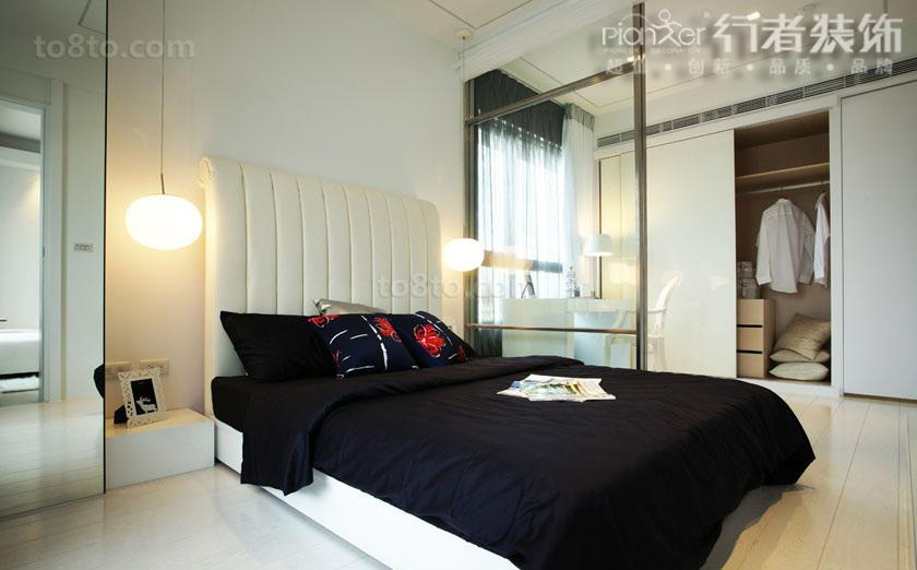 热门面积86平小户型卧室简约欣赏图片