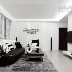 87平米二居客厅现代欣赏图