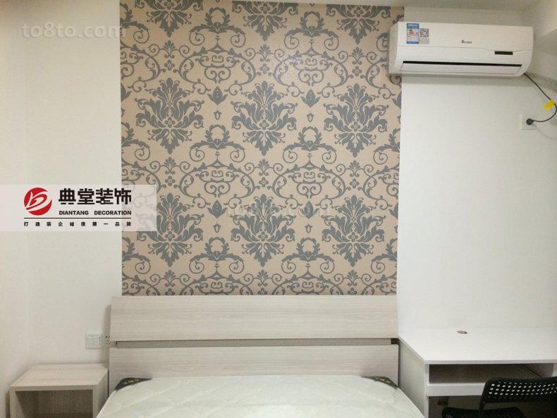 卧室背景墙壁纸效果图片